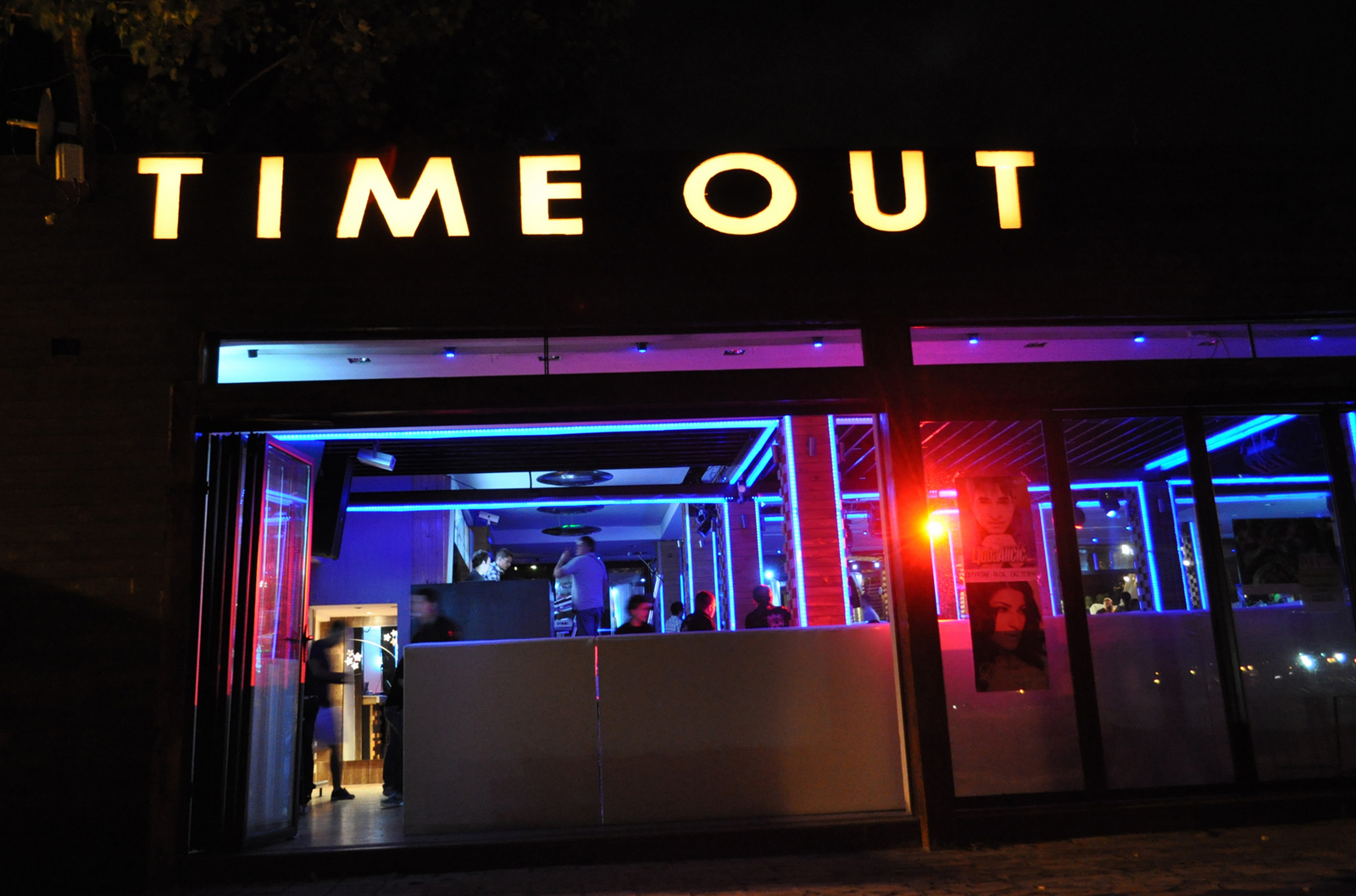 Club Time out   Belgrade at night