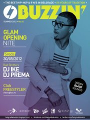 Glam Opening Nite Buzzin' at Freestyler - Belgrade at night