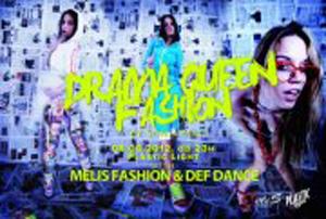 Drama Queen Fashion at club Plastic Light - Belgrade at night