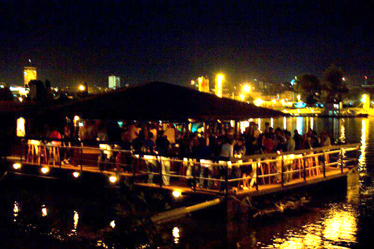 Opening Weekend of Summer Club Dobrila – Marina - Belgrade at night