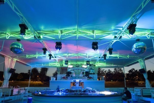 Open Air Clubs for Hot Weekend - Belgrade at night