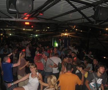 Club Povetarac – Grand Opening of the Deck | Belgrade at night