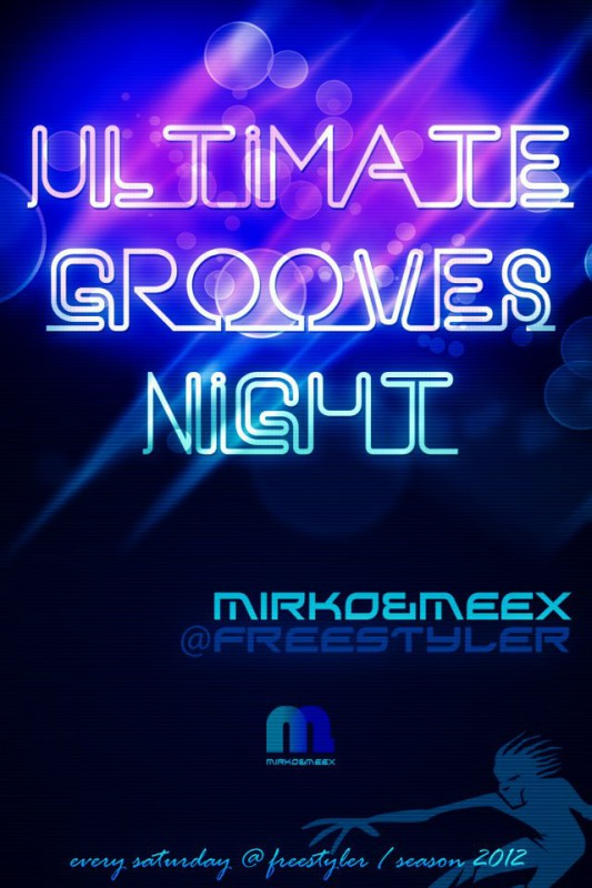 This Saturday at Freestyler: Antoine Clamaran & Ultimate Grooves DJ team - Belgrade at night