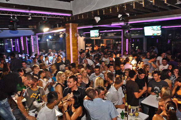 Club Povetarac – Grand Opening of the Deck - Belgrade at night
