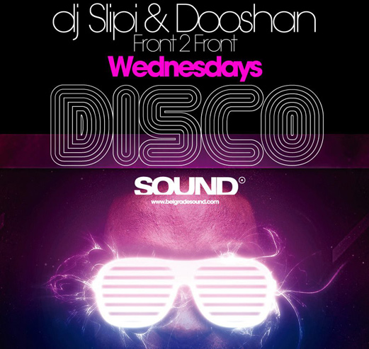 Disco Wednesday at Sound - Belgrade at night