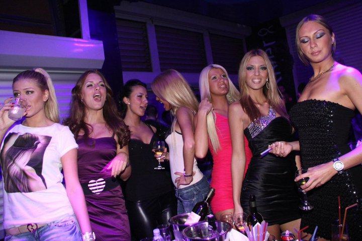 Do Not Miss River – Sensation Party on Mondays - Belgrade at night