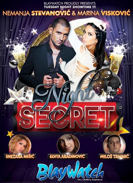 Secret Night at Blaywatch - Belgrade at night