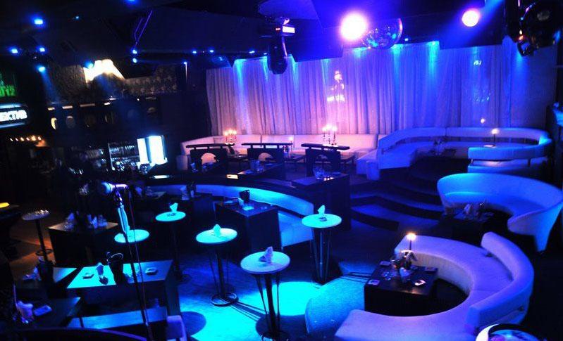 Club Hill   Belgrade at night