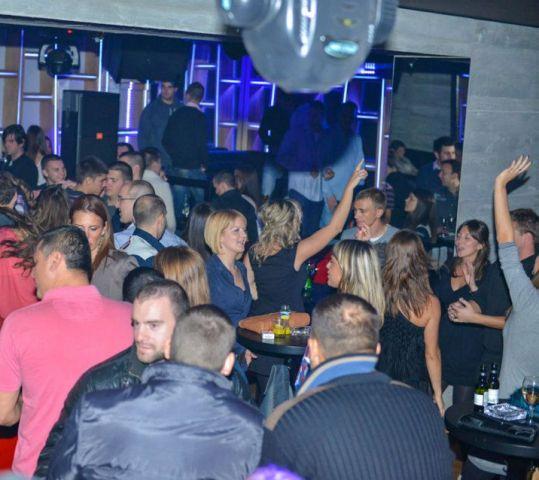 Pop/Rock Night at F6   Belgrade at night