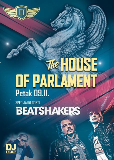 The Beatshakers@Parlament   Belgrade at night