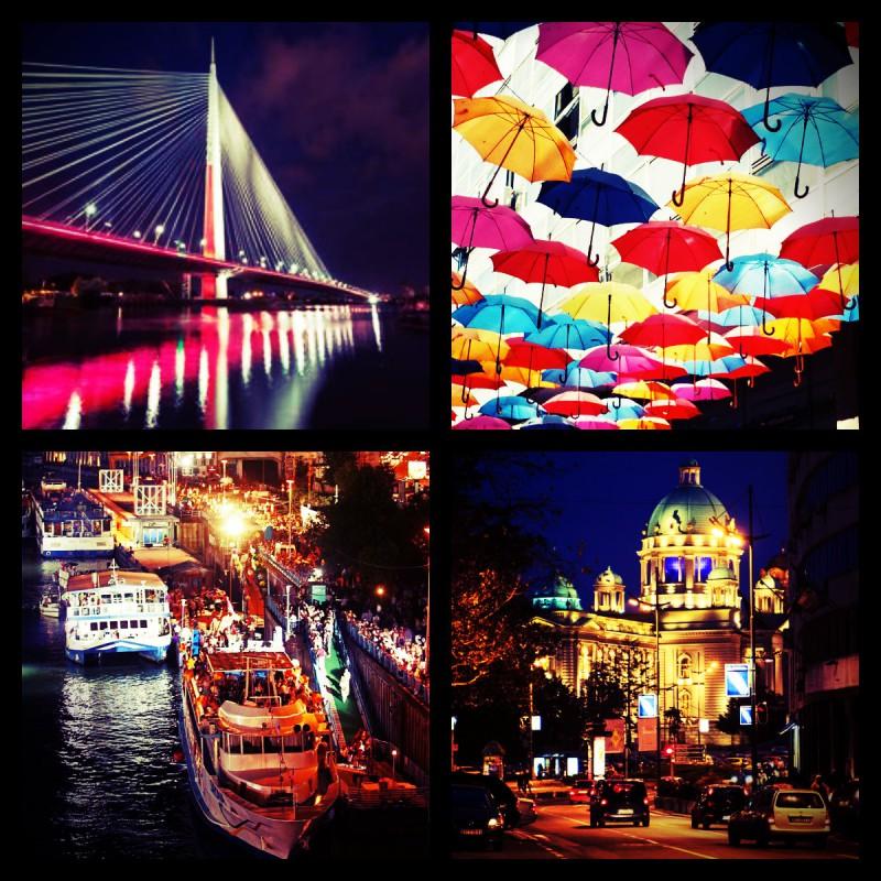 Belgrade Nightlife   Belgrade at night