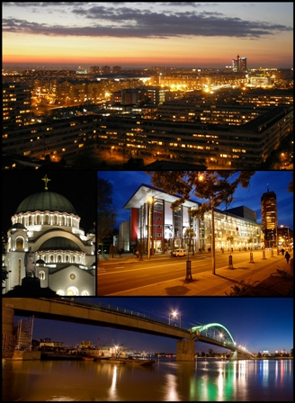 Where To Go For Weekend | Belgrade at night