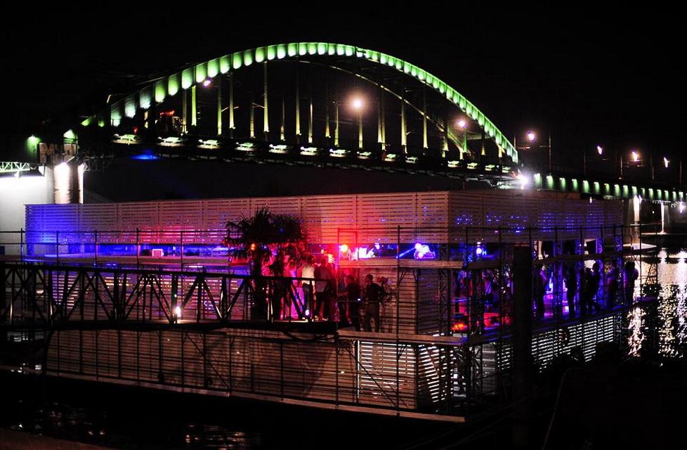 Lasta Club   Belgrade at night