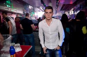 Aki Markovic at charity dinner at the club Mr. Stefan Braun | Belgrade at night