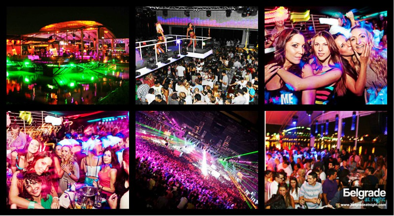 Belgrade riverclubs