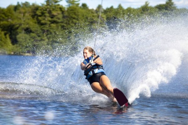Things to do in Belgrade water skiing