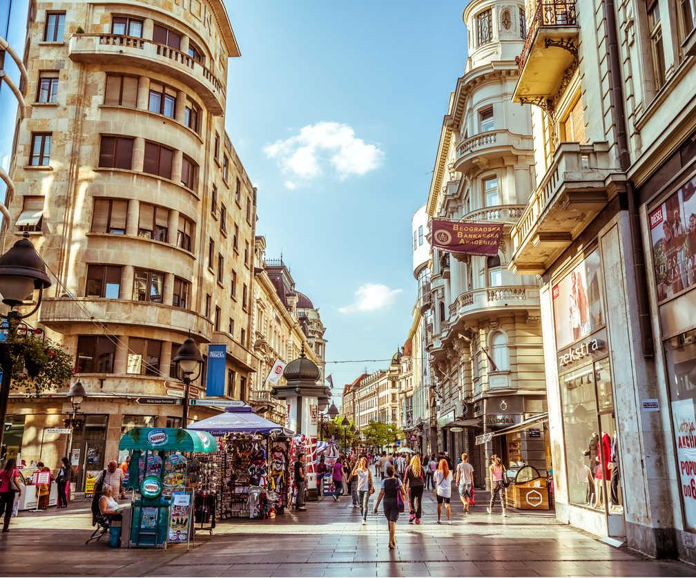 Shopping in Belgrade Knez Mihailova