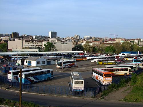 belgrade by bus