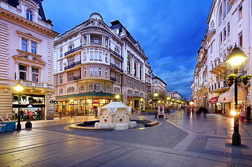 Shopping in Belgrade | Belgrade at night