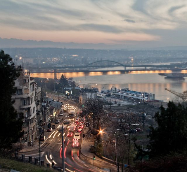 City break in Belgrade | Belgrade at night