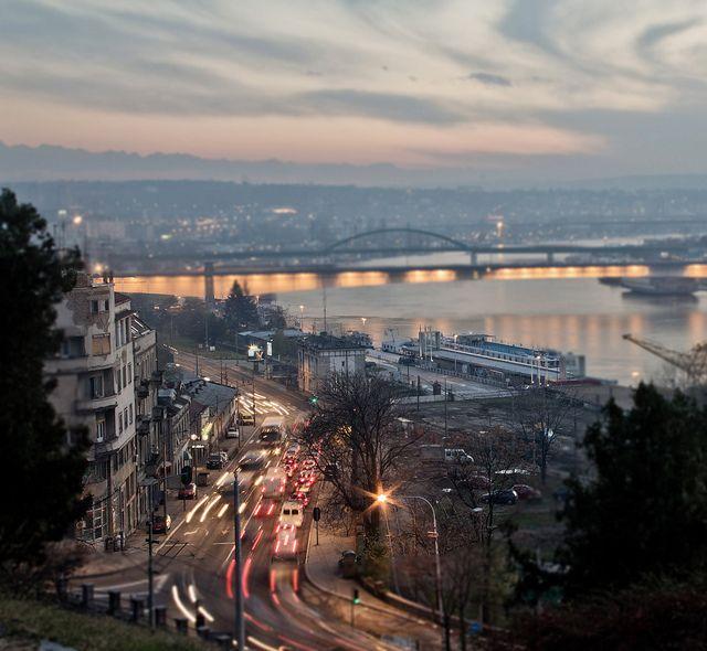 What to do in Belgrade   Belgrade at night