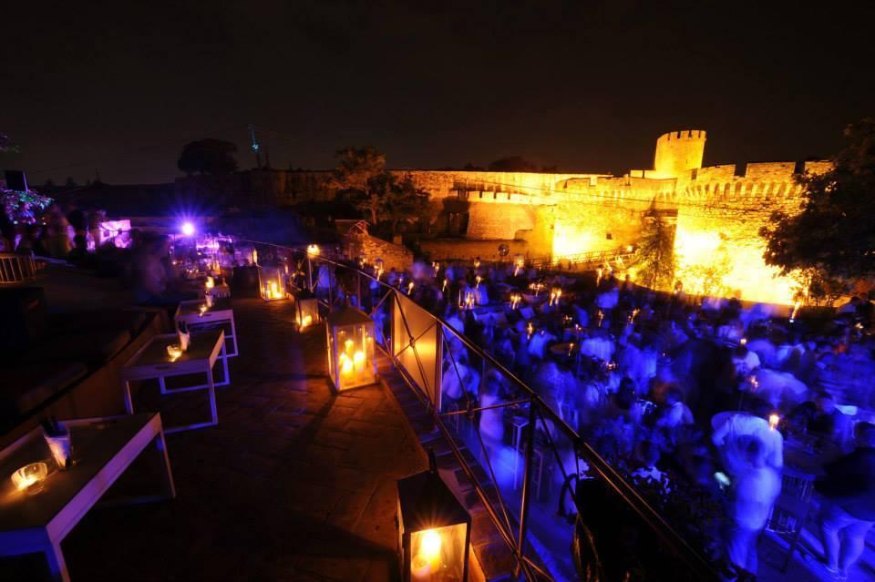 Opening of the new season at club Terrassa   Belgrade at night