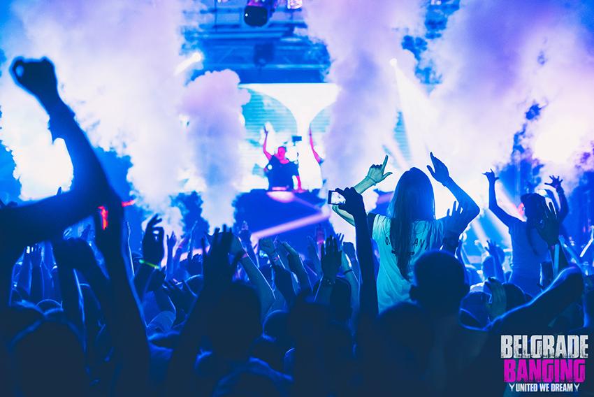 Best parties in Belgrade – Banging Summer Arena   Belgrade at night