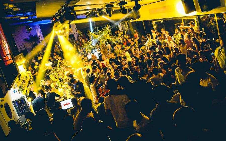 Most popular night clubs in Belgrade