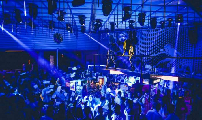 The most popular night clubs in Belgrade