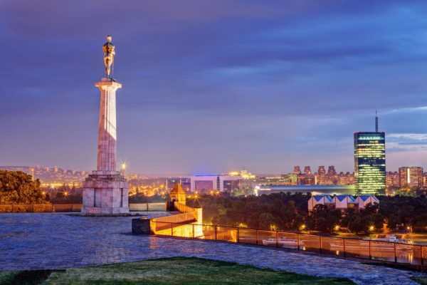 Where to stay in Belgrade   Belgrade at night