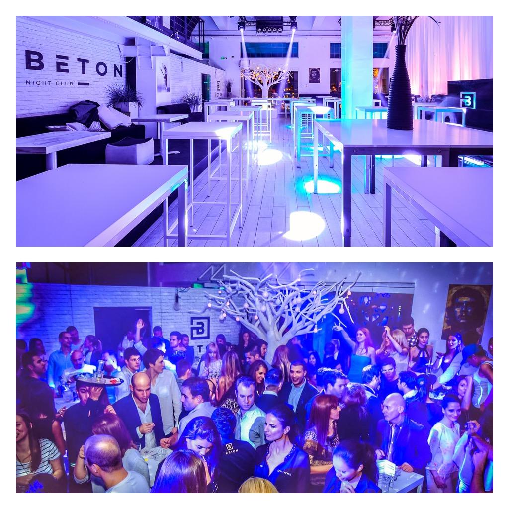 Eve parties in Belgrade - Club Beton 1