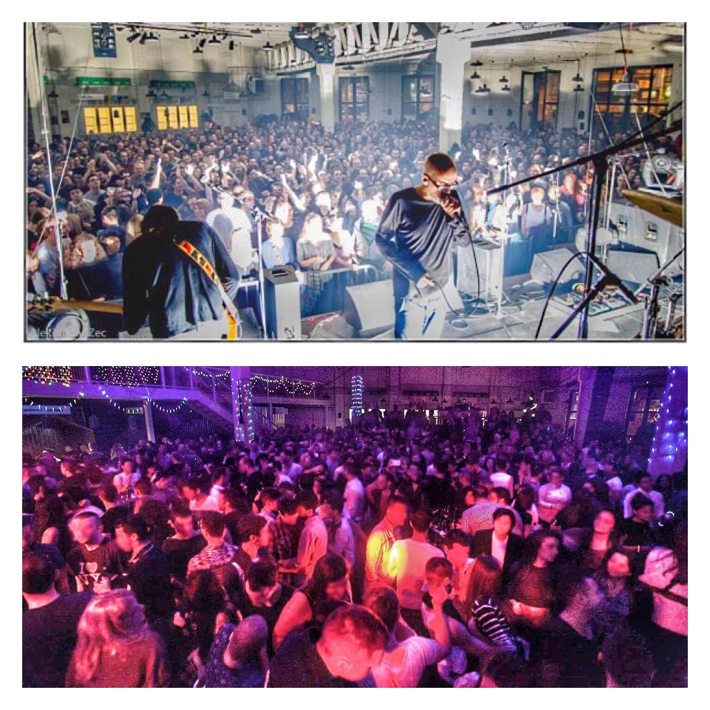 Eve parties in Belgrade - Mikser House 1