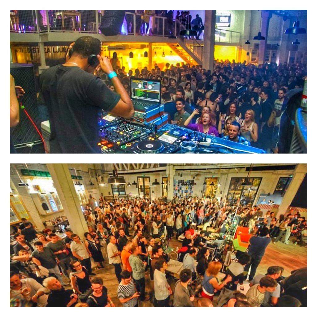 Eve parties in Belgrade - Mikser House 2