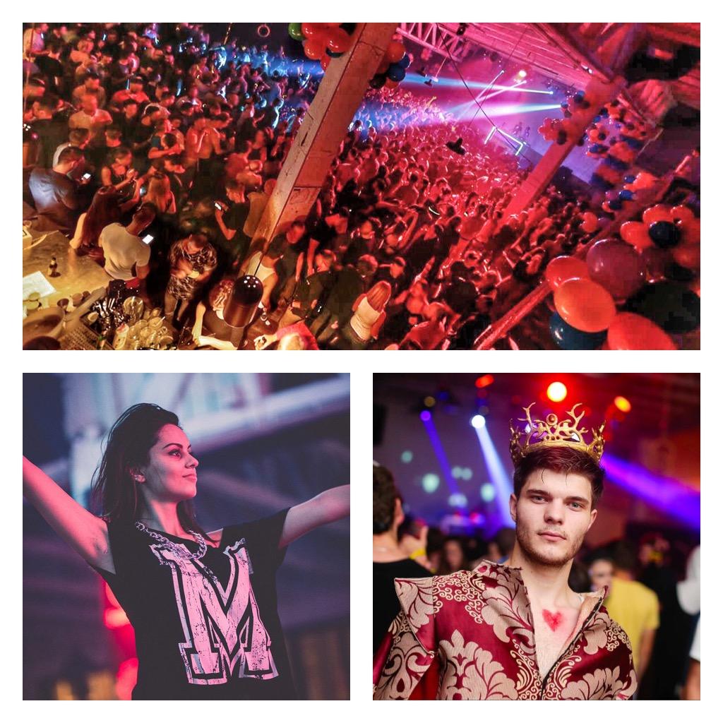 Eve parties in Belgrade - Mikser House