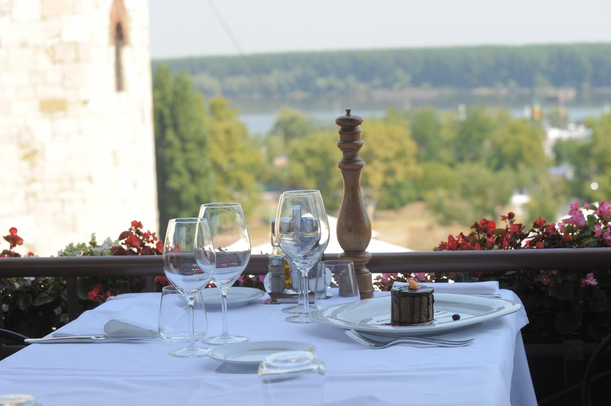 Amazing views from Kalmegdanska Terasa