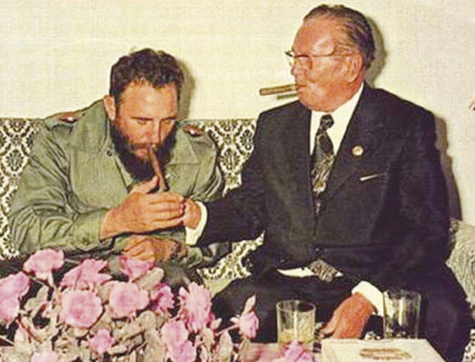 Josip bROZ AND fIDEL