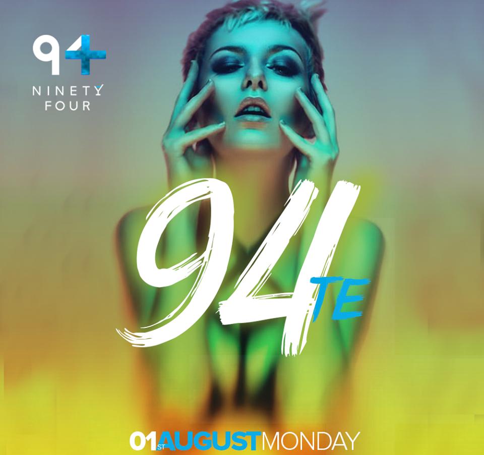 90' on Ninety four