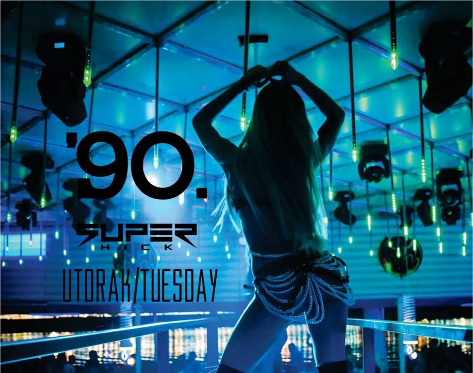 90's night at club Freestyler
