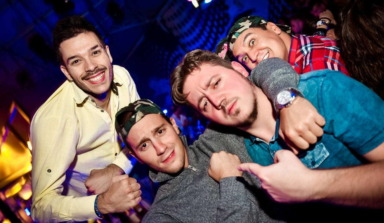 Party at Freestyler, Belgrade night club 1