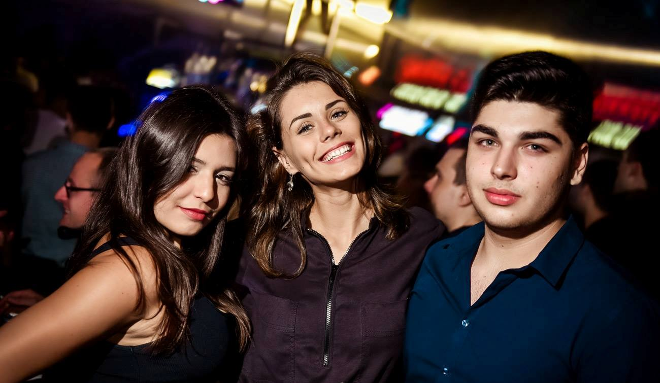 Party at Freestyler, Belgrade night club