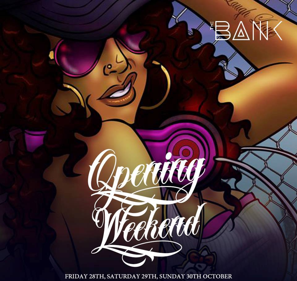 Grand opening of club The Bank!