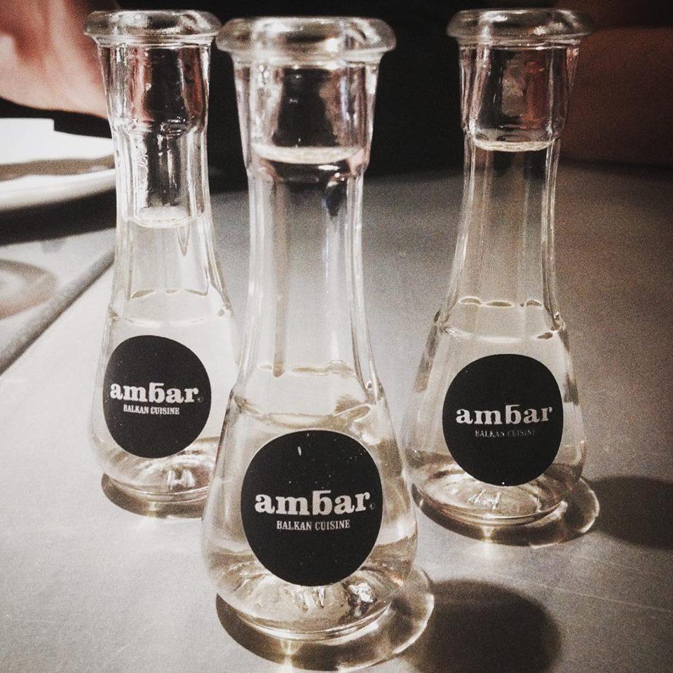 Monday evenings at Ambar restaurant
