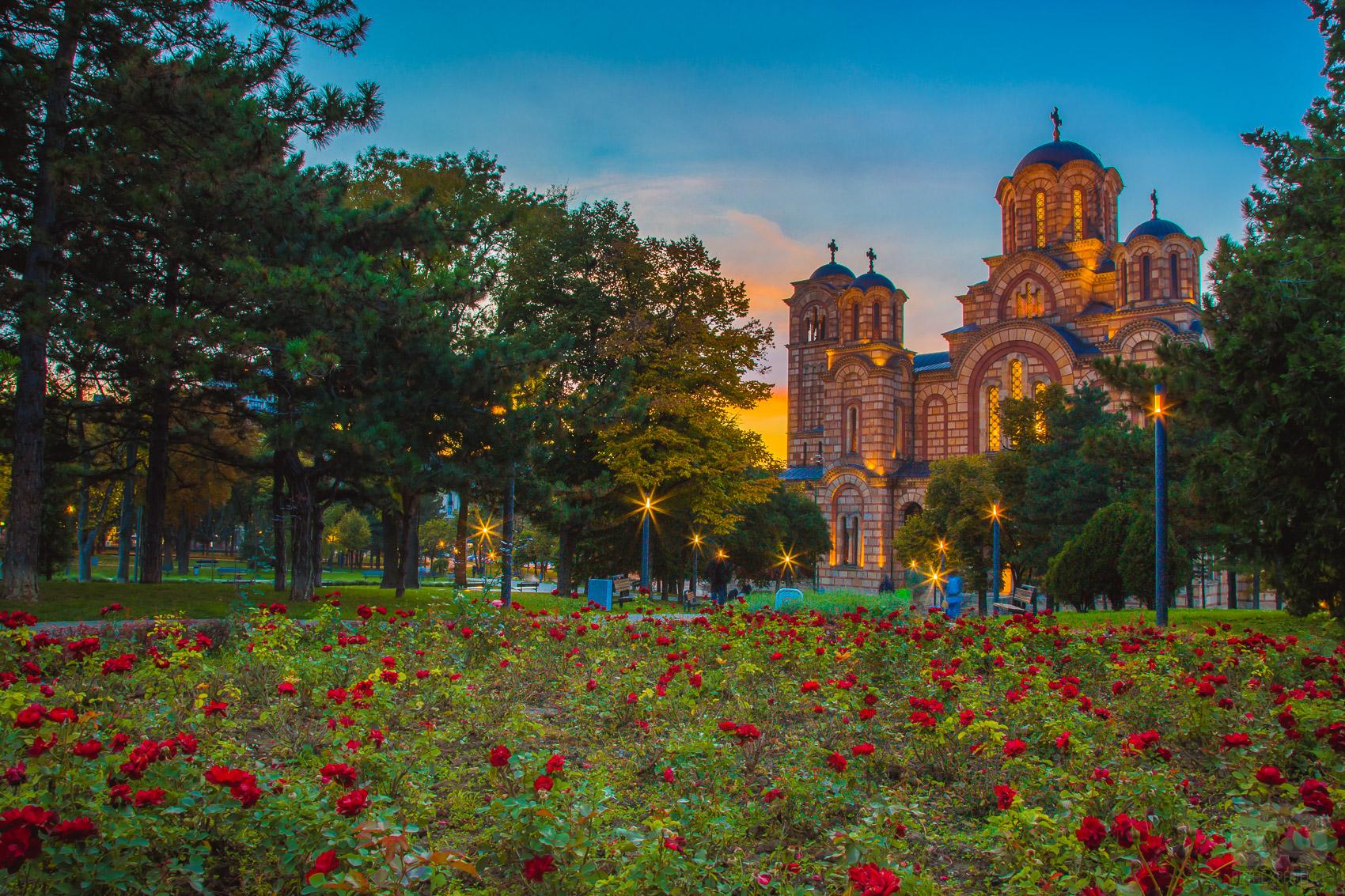 Most popular parks in Belgrade park tasmajdan