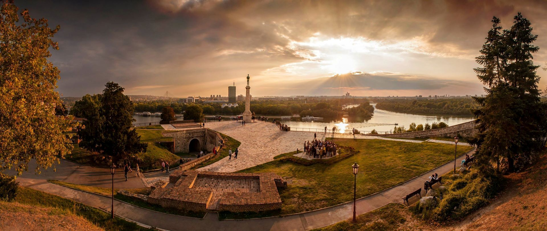 Most popular parks in belgrade kalemegdan