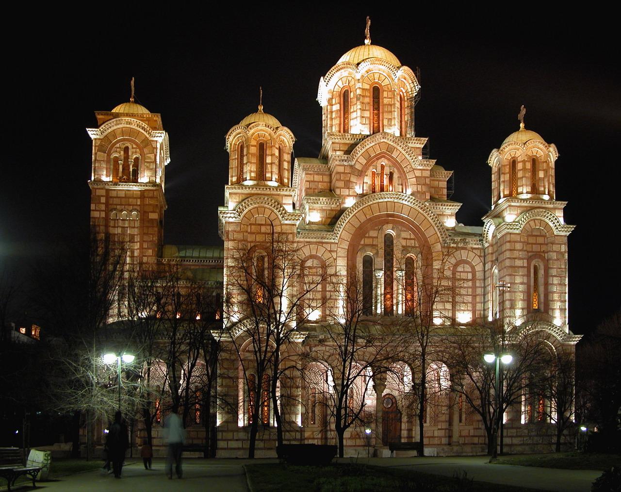 Serbian Religion - Churches and Basilicas in Belgrade crkva svetog marka
