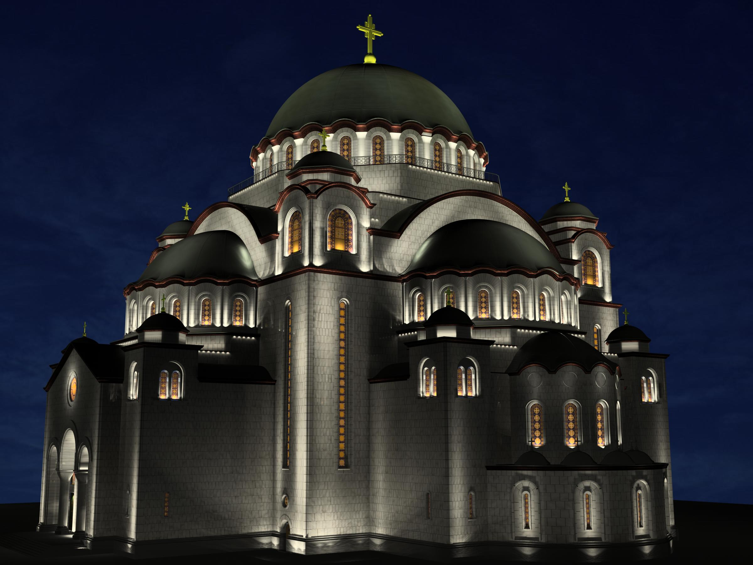 Serbian Religion - Churches and Basilicas in Belgrade hram svetog save