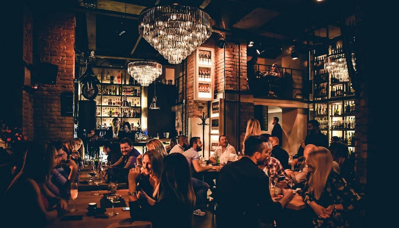 Trendy restaurant in Belgrade2
