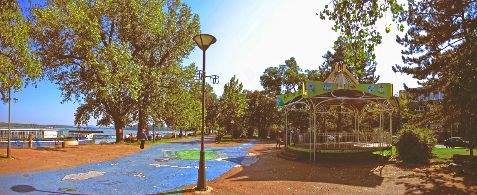 most popular parks in belgrade zemunski kej