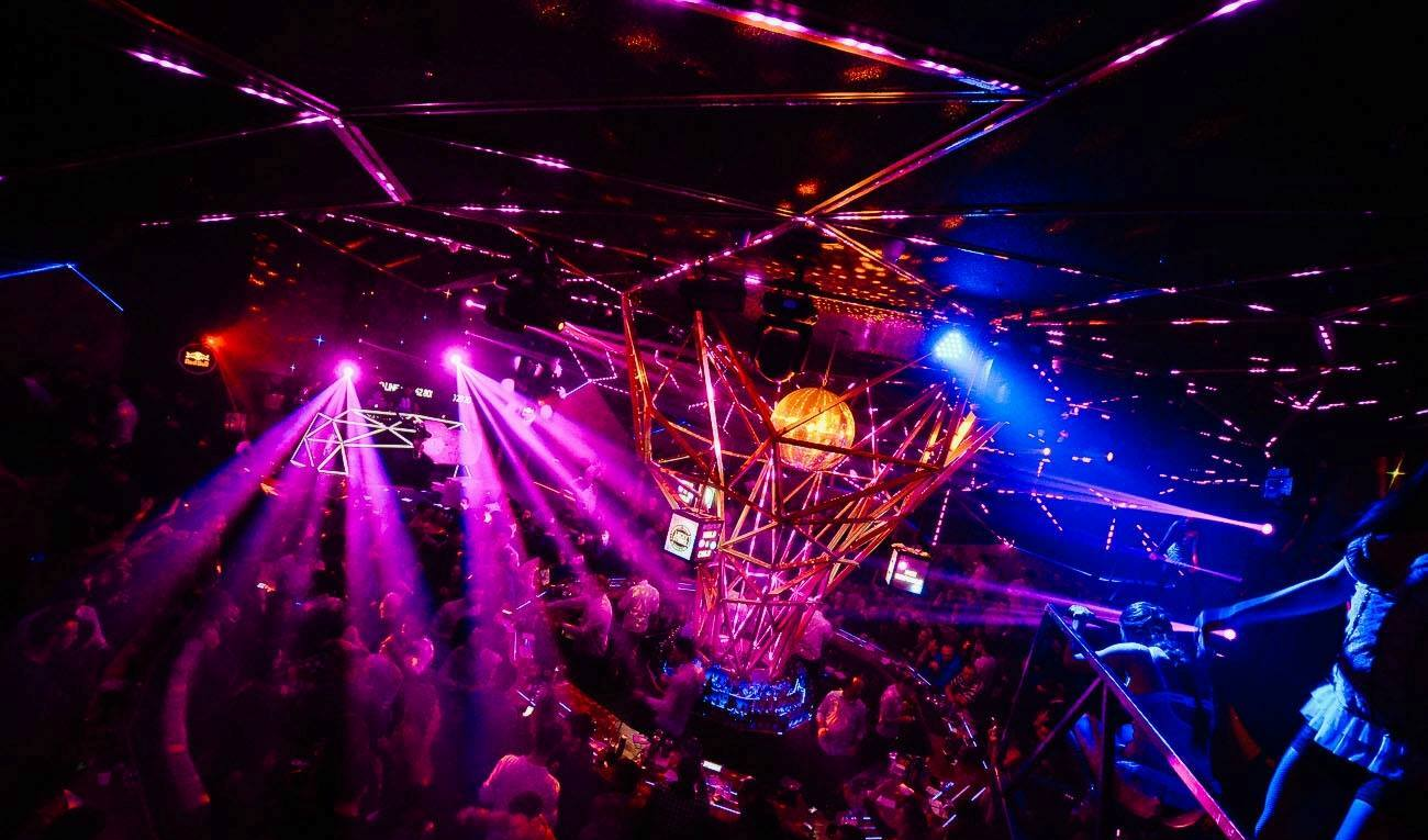 Dizel Party at Club Tilt - Belgrade at night