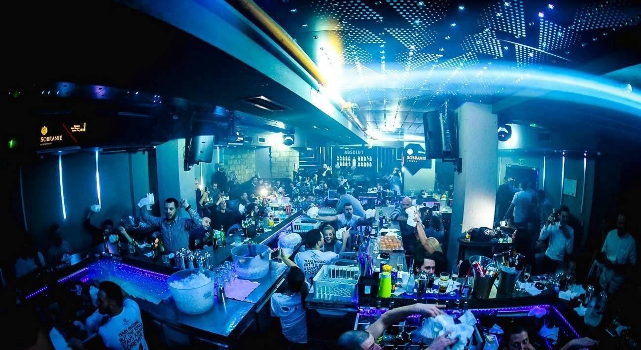 Retrospect: New Year's Eve 2017 - Belgrade at night